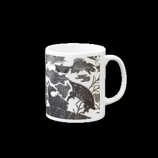 🔥Ryuu🔥絵描き師🔥依頼はDMください😄の猪鹿蝶 Mugs