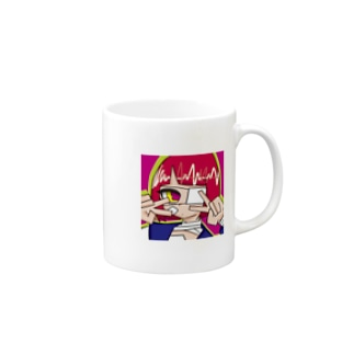 めんへらがーる1 Mugs
