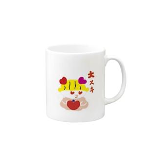 ぱこぱん Mugs