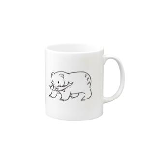 きぼりのくま Mugs