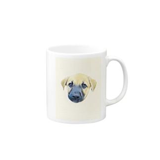 愛犬 Mugs