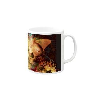 【パンクロック】骸骨のマグカップ Mugs