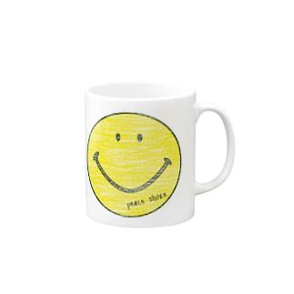 peace shore smile Mugs
