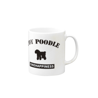onehappinessのトイプードル Mugs