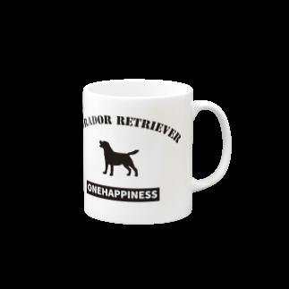 onehappinessのラブラドールレトリバー Mugs