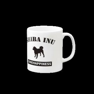 onehappinessの柴犬 Mugs