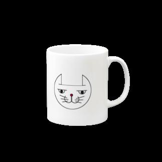 ヒロさんのグッズのネコだお(カラー) Mugs