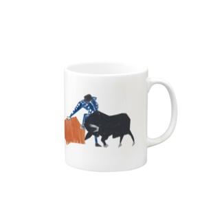 闘牛 マグカップ
