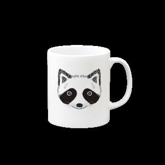 HINAGOROUのもふもふたぬき Mugs