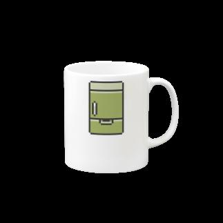 カットボスの冷蔵庫 Mugs