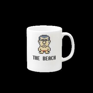 カットボスのカットボス - ビーチ Mugs