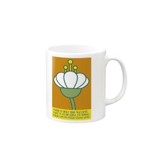 occasiの花の横顔 Mugs