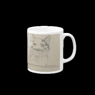 梅のneko Mugs