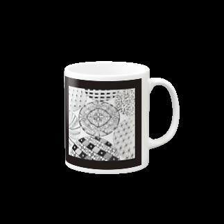 hitomin311のZentangle Mugs