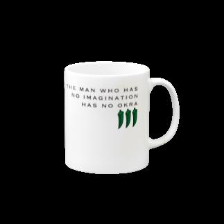 WEEKEND PASSのOKRA Mugs