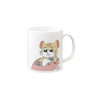 レッキングボール〜ポプテ風味〜 Mugs