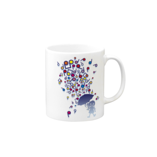 AURA_HYSTERICAのSingin' in the Rain Mugs