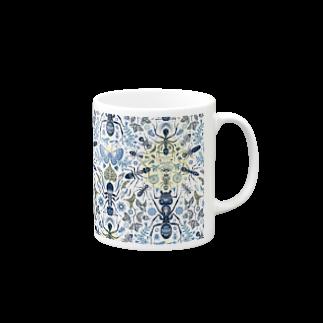 TETETEN SHOPのBUGS & CRAFTS 001 Mugs