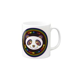 CHR black panda Mugs