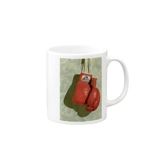 ボクシンググローブ Mugs