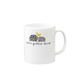 one's yellow bird オリジナルグッズ Mugs