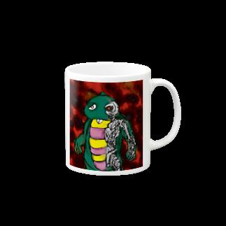 折羽ル子のガチャミネーターマグカップ