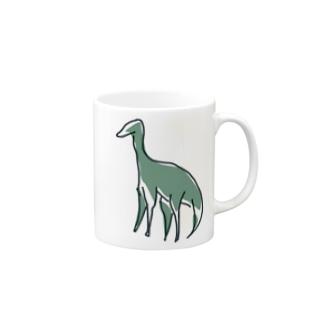 恐竜 Mugs