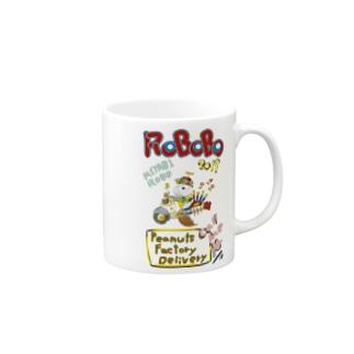 🤖ROBOBO「みやびロボ」 Mugs