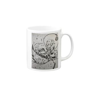 mamonoyaの炒ファンク(チャーファンク) Mugs