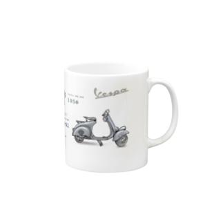 Vespa Mugs