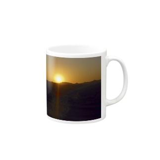 夕焼け Mugs