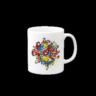 The Loving Treeのmagicmushroomマグカップ