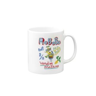 ROBOBO🤖「パオロボ」 Mugs
