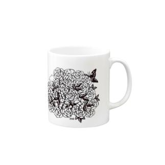 ばらの花束 Mugs