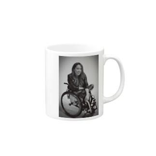 白黒で笑ってるよシリーズ Mugs