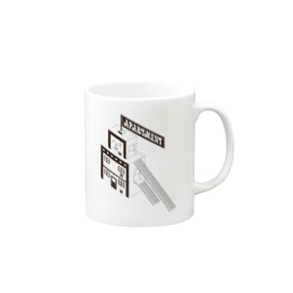 アパート Mugs