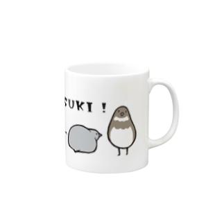 うずらだいすき Mugs