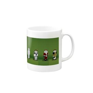 歴代フェイマススキン Mugs