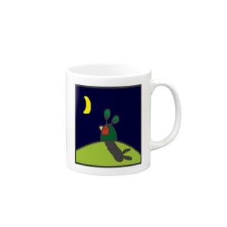うさぎインコ Mugs