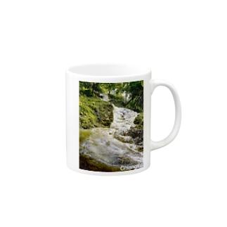 タイの滝 Mugs