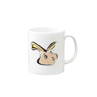 うさぎうさぎウサギ Mugs