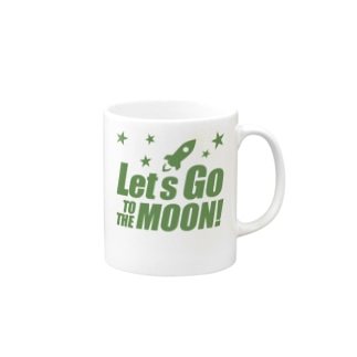 Let's go to the moon! Mugs