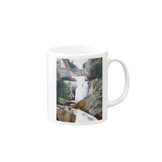 密林の風景 マグカップ