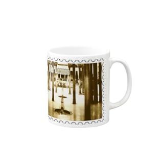 スペイン:アルハンブラ宮殿★白地の製品だけご利用ください!! Spain: Court of the Lions/Alhambra/Granada★Recommend for white base products only !! Mugs