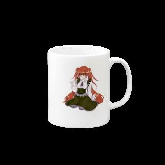 Ei_memeのおにゃの娘グッズ Mugs