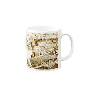 スペイン:グラナダ旧市街 Spain: Old area of Granada Mugs