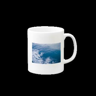 cozcozの海のあお Mugs