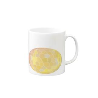 水草のオレンジ玉 Mugs