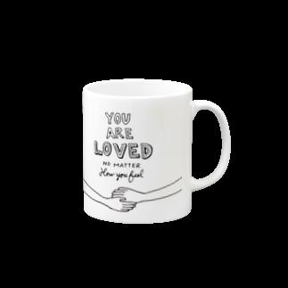 HÖGBRONのYou are loved.. Mugs
