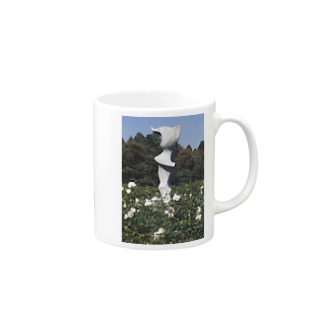 Dreamscapeのホワイトガーデン Mugs